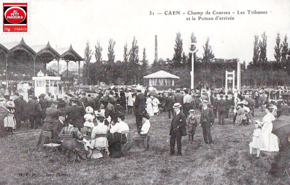 Caen, le champ de courses.