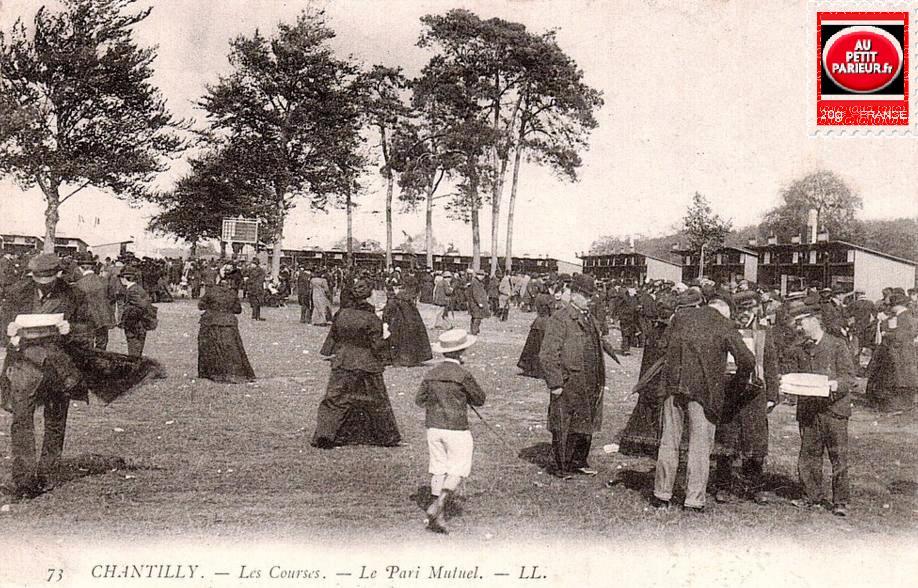 Chantilly, les courses le Pari-Mutuel.