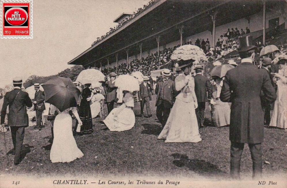 Chantilly, le prix du Jockey Club.